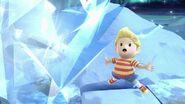 Lucas usando Hielo PSI en La Cúspide SSBU