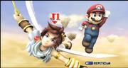 Mario y Pit Reino del Cielo ESE SSBB