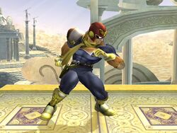 Pose de espera Captain Falcon SSBB (2)