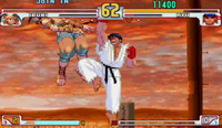 Shin Shoryuken en Street Fighter III
