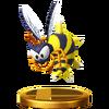 Trofeo de Zinger SSB4 (Wii U)