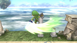Ataque circular frontal (2) SSB4 (Wii U)