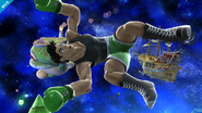 Little Mac en la Galaxia Mario SSB4 (Wii U)