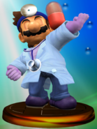 Trofeo de Dr. Mario (Smash 2) SSBM