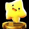 Trofeo de Starfy SSB4 (Wii U)
