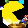 Trofeo de Super PAC-MAN (SSB4) (Wii U )