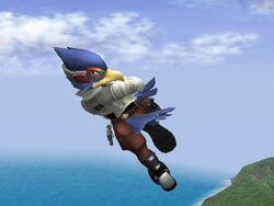 Ataque Aéreo Inferior Falco SSBB (1)