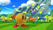 Burla hacia arriba de Pac-Man SSB4 (Wii U)