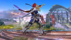 Burla lateral Roy SSB4 (Wii U)
