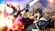 Chrom en el Smash Final de Daraen SSB4 (Wii U)