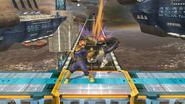 Lanzamiento delantero de Captain Falcon SSB4 (Wii U)