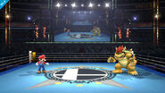 Ring de boxeo (Version Smash Bros.) SSB4 (Wii U)