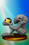 Trofeo de Chozo Statue SSBM
