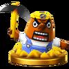Trofeo de Rese T. Ado SSB4 (Wii U)