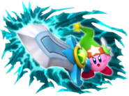 Art Oficial de Gran Espada en Kirby's Return to Dreamland
