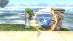 Ataque circular frontal (1) SSB4 (Wii U)
