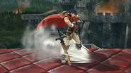 Burla inferior de Ike (2) SSB4 (Wii U)