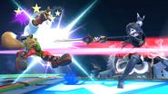 Lucina usando Rompeescudos contra Fox SSB4 (Wii U)