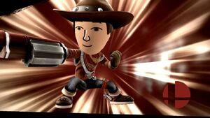 Pose de victoria (3) Tirador Mii SSB4 Wii U