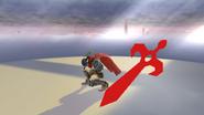 Pose de victoria de Ike (1-1) SSB4 (Wii U)