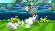 Supersalto Puñetazo Dr. Mario (2) SSB4 (Wii U)