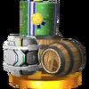 Trofeo de Barriles SSB4 (3DS)