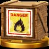 Trofeo de Caja explosiva SSB4 (Wii U)