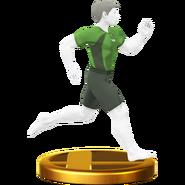 Trofeo de Entrenadora de Wii Fit (alt.) SSB4 (Wii U)