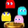 Trofeo de los Fantasmas (PAC-MAN) SSB4 (Wii U)