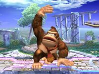 Ataque fuerte superior Donkey Kong SSBB