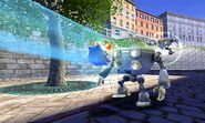 Homing Attack en Sonic Unleashed