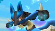 Lucario en SSB4 (Wii U)