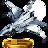 Trofeo de Great Fox (Assault) SSB4 (Wii U)