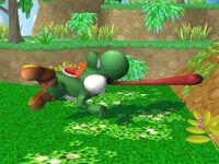 Agarre corriendo Yoshi SSBB