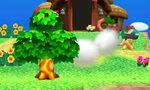 Contrataque leñador SSB4 (3DS)