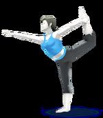 Entrenadora de Wii Fit SSB4