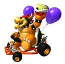 Pegatina de Bowser Mario Kart 64 SSBB