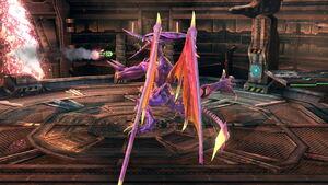 Triple zarpazo (1) SSB4 (Wii U)