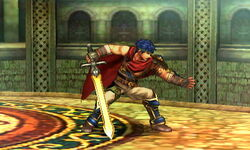 Agarre normal Ike SSB4 (3DS)