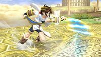 Ataque de recuperación boca arriba (2) Pit SSB4 Wii U