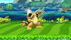 Burla hacia arriba Bowser (2) SSB4 (Wii U)