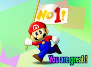 Créditos 1P Game Mario SSB