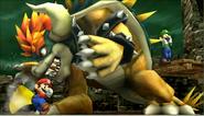 Créditos Modo Senda del guerrero Bowser SSB4 (3DS)