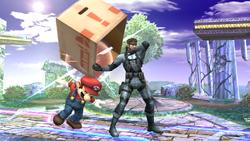 Daño de la caja-Snake SSBB