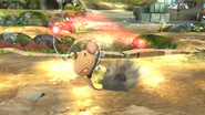 Olimar usando Arrancar Pikmin SSB4 (Wii U)
