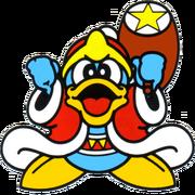 Rey Dedede Kirby's Adventure