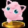 Trofeo de Jigglypuff SSB4 (Wii U)