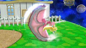 Ataque fuerte lateral Peach SSB4 Wii U