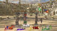Magno en el Coliseo SSB4 (Wii U)