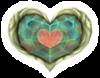 Pegatina Pieza de Corazón SSBB